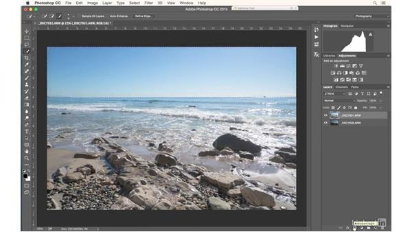 Manually blending images to get good exposure: Photography Tips: Overcoming Camera and Lens Limitations