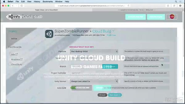 Welcome: Unity Cloud Build with Git