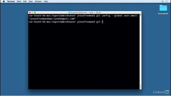 Commit changes: Unity Cloud Build with Git