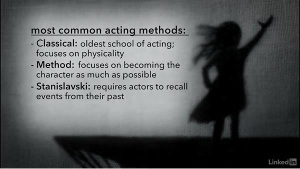 Exploring acting methods: Creating a Short Film: 04 Working with Actors