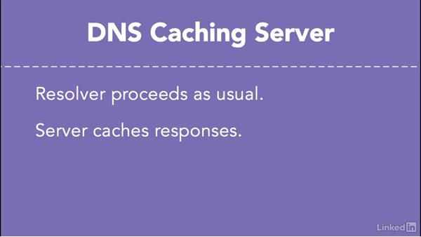 Caching: Managing DNS Essential Training