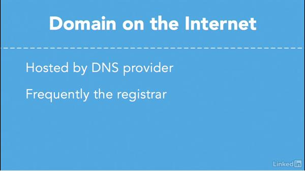 Use an Internet-based DNS provider: Managing DNS Essential Training