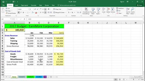 Navigate between worksheets efficiently: Excel 2016 Tips and Tricks
