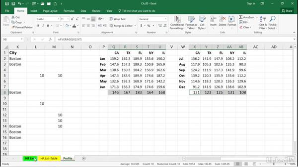 Select noncontiguous ranges and visible cells only: Excel 2016 Tips and Tricks