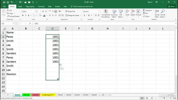 Accelerate data entry: Excel 2016 Tips and Tricks