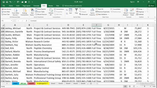 Use custom lists for rapid data entry and list-based sorting: Excel 2016 Tips and Tricks
