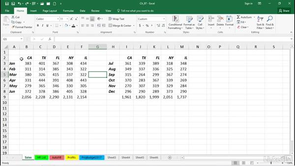 Accelerate copy and move tasks: Excel 2016 Tips and Tricks