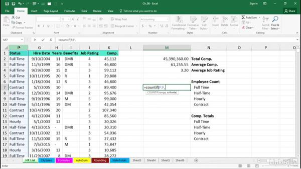 Create formulas rapidly: Excel 2016 Tips and Tricks