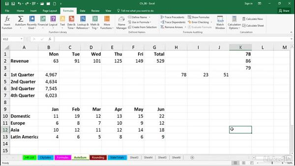 Use AutoSum shortcuts: Excel 2016 Tips and Tricks