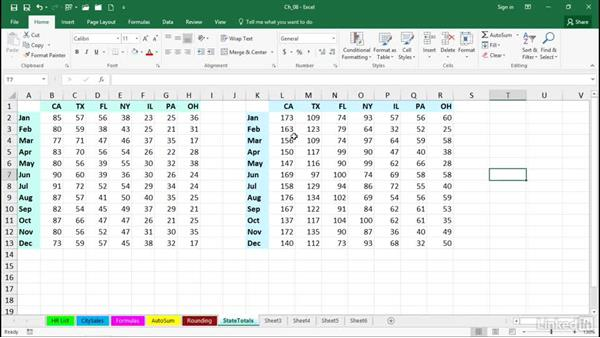 Perform calculations without formulas: Excel 2016 Tips and Tricks