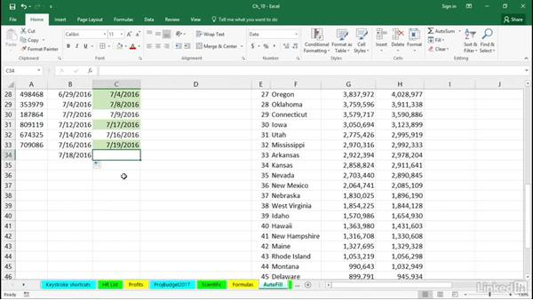 Use conditional formatting based on comparison criteria: Excel 2016 Tips and Tricks