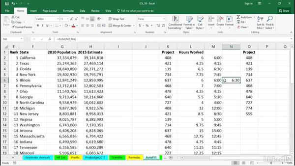 Use special formats for times over 24 hours: Excel 2016 Tips and Tricks