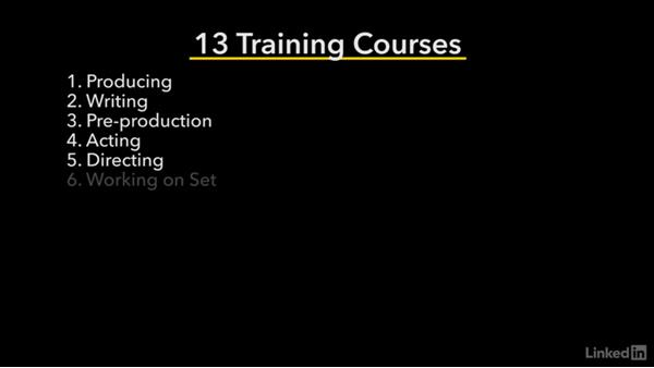 About this training series: Creating a Short Film: 01 Producing
