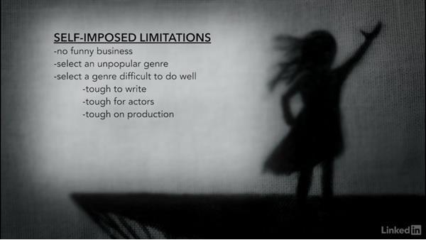 Creating artificial limitations: Creating a Short Film: 01 Producing