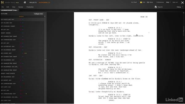 Looking at the other courses: Creating a Short Film: 01 Producing