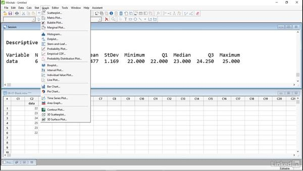 Save worksheets and projects: Introduction to Minitab