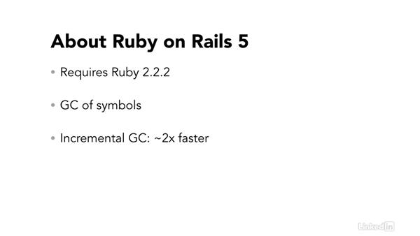 An overview of Ruby on Rails 5: Ruby on Rails 5 New Features