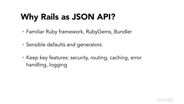 Rails as a JSON API: Ruby on Rails 5 New Features