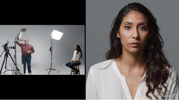Controlling shadows with fill light: Video Lighting 101