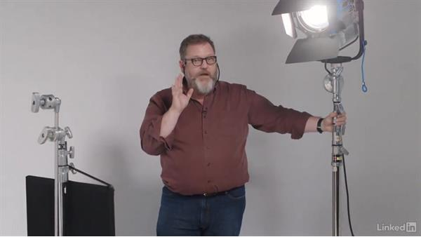 Creating depth with backlight: Video Lighting 101