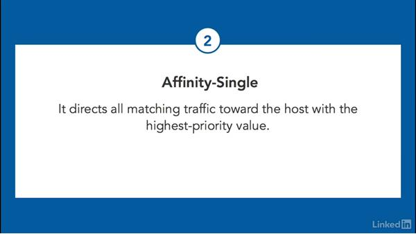Configure affinity: Windows Server 2012 R2: Configure and Manage High Availability