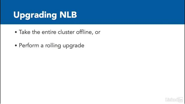 Upgrade an NLB cluster: Windows Server 2012 R2: Configure and Manage High Availability