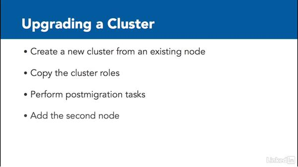Upgrade a cluster: Windows Server 2012 R2: Configure and Manage High Availability