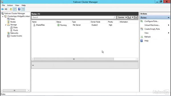 Remove a virtual machine from Cluster Manager: Windows Server 2012 R2: Configure and Manage High Availability