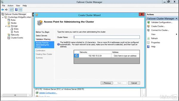 Add a second cluster: Windows Server 2012 R2: Configure and Manage High Availability