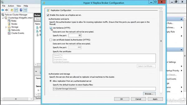 Add a replica broker to have VM replication: Windows Server 2012 R2: Configure and Manage High Availability