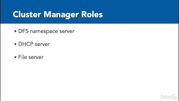 Configure role specific settings: Windows Server 2012 R2: Configure and Manage High Availability