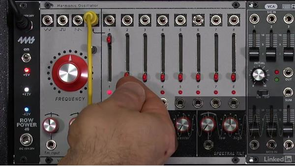 Fundamental concept: Harmonics & sound: Learning Modular Synthesis