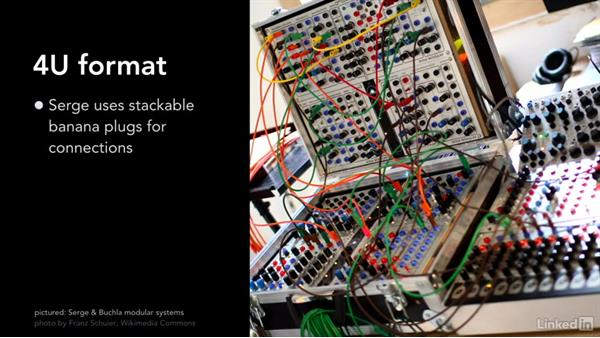 The standard formats: Learning Modular Synthesis