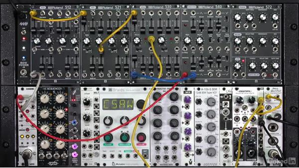 """Patching a typical synthesizer """"voice"""": Learning Modular Synthesis"""
