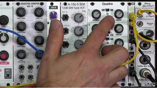 Envelope types (ADSR, AD, AR, and DADSR): Learning Modular Synthesis