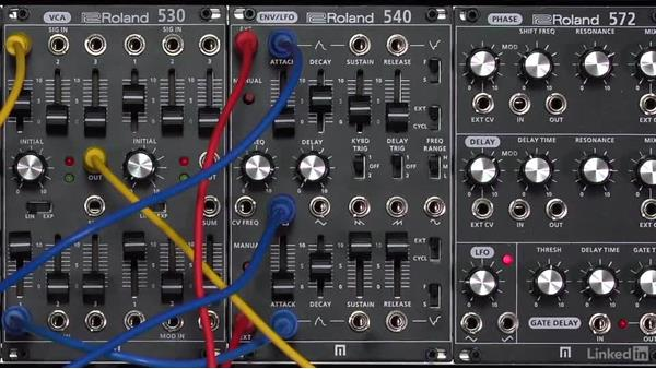 Vibrato with LFO sync and delay: Learning Modular Synthesis