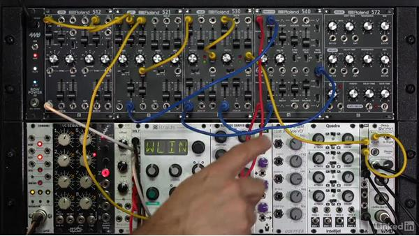 Tremolo and voltage-controlled amplifiers (VCAs): Learning Modular Synthesis