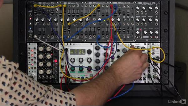 Some alternate modulation sources: Learning Modular Synthesis