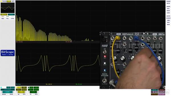 Exponential frequency modulation (FM): Learning Modular Synthesis