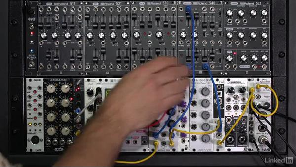 Low-pass gates (LPG): Learning Modular Synthesis