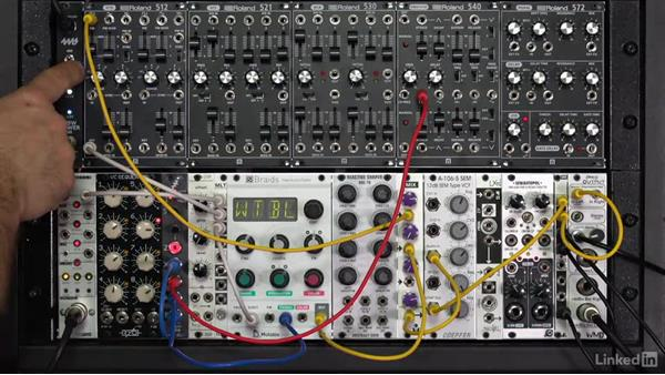 Sample & hold (S/H): Learning Modular Synthesis
