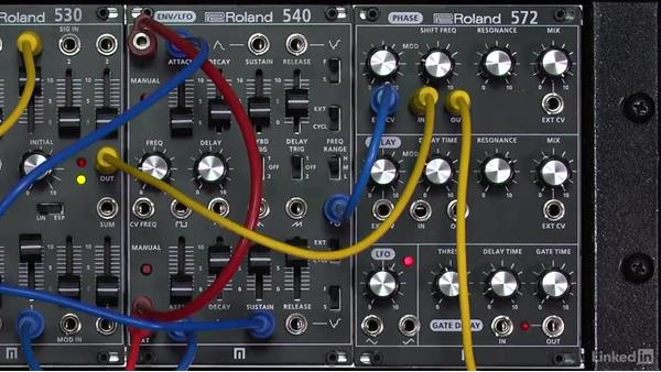 Phase shifting: Learning Modular Synthesis