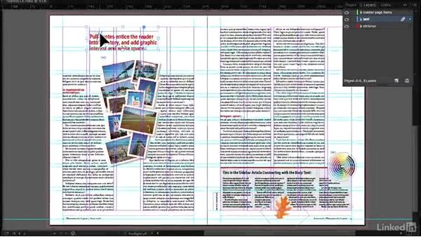 Welcome: InDesign: Elements of a Layout