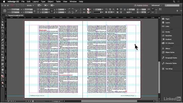White space: InDesign: Elements of a Layout