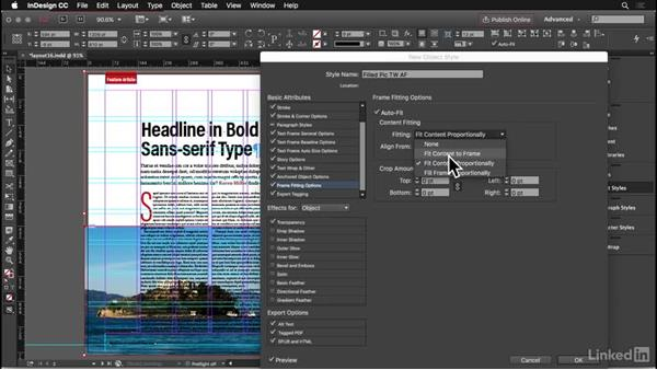 Bleeds and crossovers: InDesign: Elements of a Layout