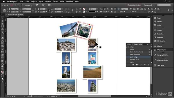 Photo collage: InDesign: Elements of a Layout