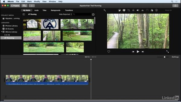 Rate clips: iMovie 10.1.1 Essential Training