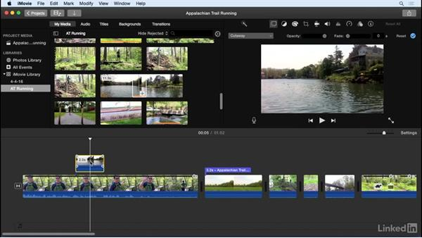 Add cutaways, side-by-side video, and picture in picture: iMovie 10.1.1 Essential Training