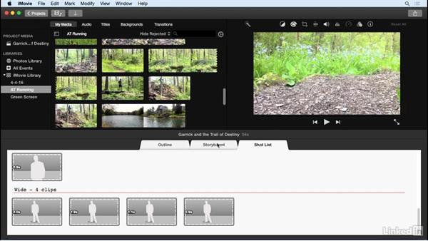Create movie trailers: iMovie 10.1.1 Essential Training