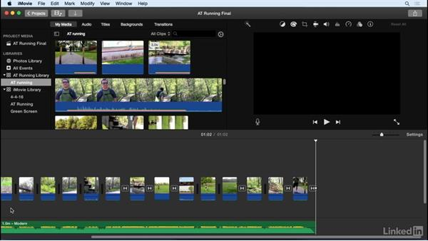 Export to iMovie Theater: iMovie 10.1.1 Essential Training